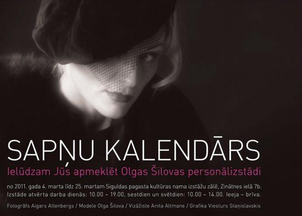 Sapņu kalendārs plakāts Sigulda