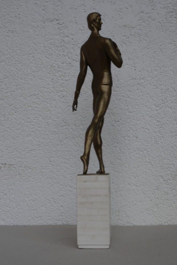 Māris Liepa sculpture